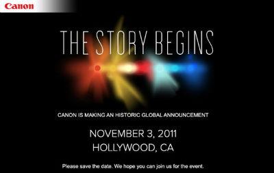 Canon 3.November Event