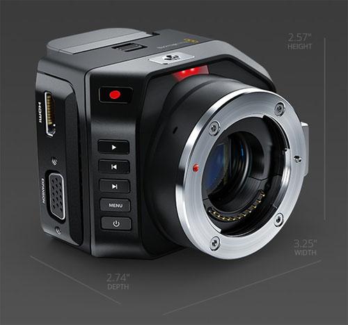 blackmagic micro cinema camera u a f r drohnen nab 2015. Black Bedroom Furniture Sets. Home Design Ideas