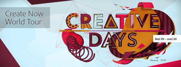 Adobe Creative Days 2013