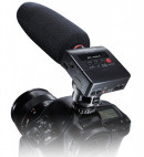 Tascam DR10-SG: Shotgun Mikro plus Recorder Kombi // NAB 2016