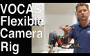 Messevideo: Vocas: Finale Version des Flexible Camera Rigs für Sony Alpha, C200, EVA1 uva. // IBC 2018
