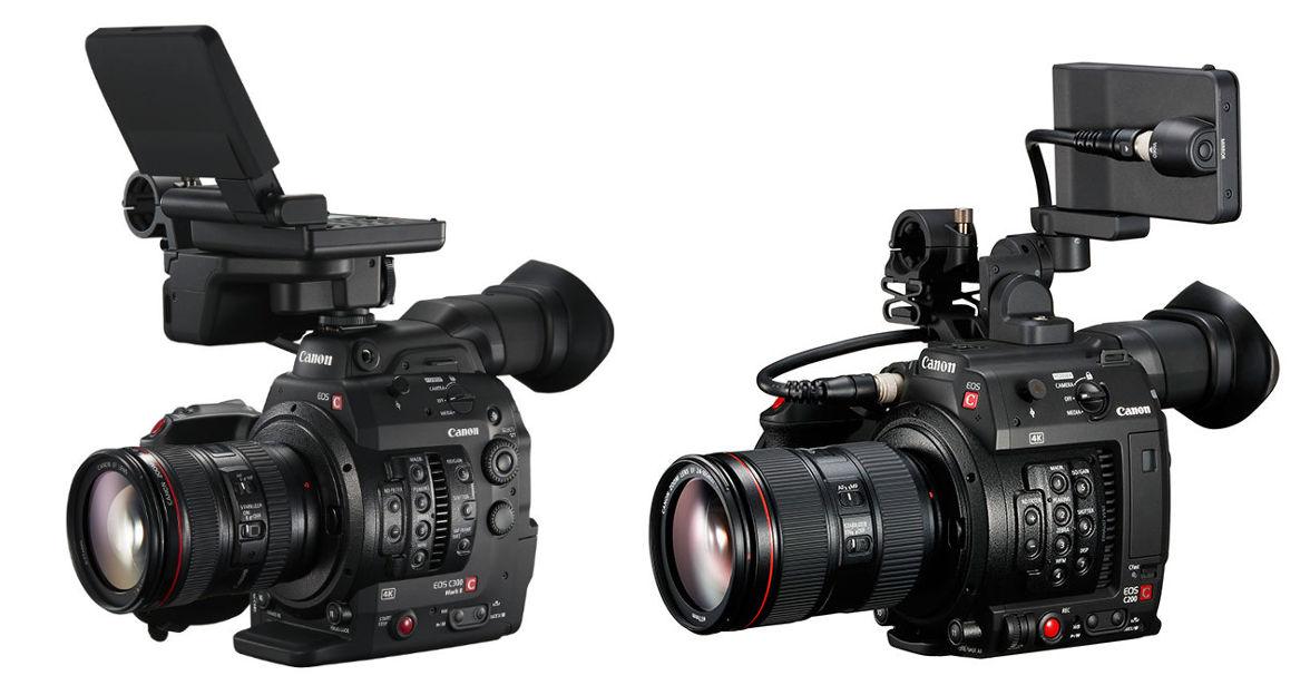 Werbung : Canon C300 MKII vs Canon C200 - Welche Cinema EOS wofür?: